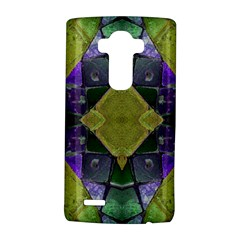 Purple Yellow Stone Abstract Lg G4 Hardshell Case