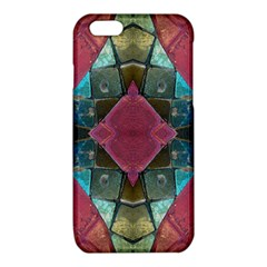 Pink Turquoise Stone Abstract iPhone 6/6S TPU Case