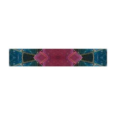 Pink Turquoise Stone Abstract Flano Scarf (Mini)
