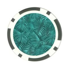 Tropical Hawaiian Pattern Poker Chip Card Guards (10 pack)