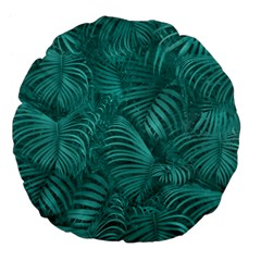Tropical Hawaiian Pattern Large 18  Premium Flano Round Cushions
