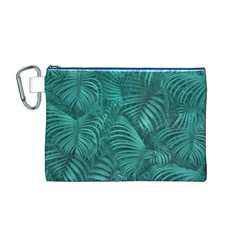 Tropical Hawaiian Pattern Canvas Cosmetic Bag (M)