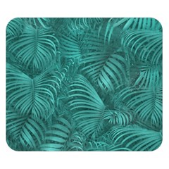 Tropical Hawaiian Pattern Double Sided Flano Blanket (Small)