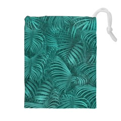 Tropical Hawaiian Pattern Drawstring Pouches (extra Large)
