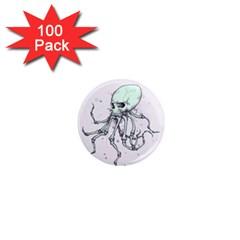 Skellingpus 1  Mini Magnets (100 pack)