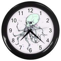 Skellingpus Wall Clocks (Black)