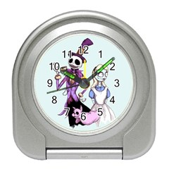 Nightmare In Wonderland  Travel Alarm Clocks