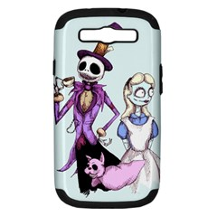 Nightmare In Wonderland  Samsung Galaxy S III Hardshell Case (PC+Silicone)