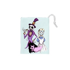 Nightmare In Wonderland  Drawstring Pouches (XS)