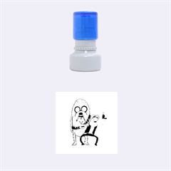 Space Adventure! Mans Best Friend Rubber Round Stamps (Small)