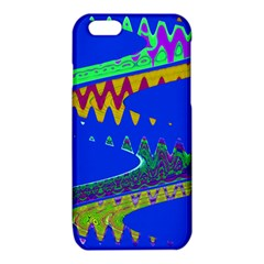 Colorful Wave Blue Abstract iPhone 6/6S TPU Case