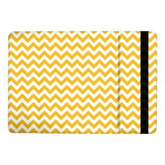 Sunny Yellow & White Zigzag Pattern Samsung Galaxy Tab Pro 10 1  Flip Case