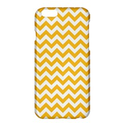 Sunny Yellow & White Zigzag Pattern Apple iPhone 6 Plus/6S Plus Hardshell Case