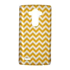 Sunny Yellow & White Zigzag Pattern Lg G4 Hardshell Case