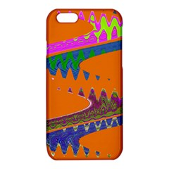 Colorful Wave Orange Abstract iPhone 6/6S TPU Case