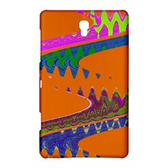 Colorful Wave Orange Abstract Samsung Galaxy Tab S (8.4 ) Hardshell Case
