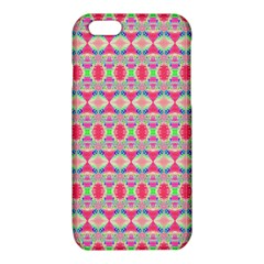 Pretty Pink Shapes Pattern iPhone 6/6S TPU Case