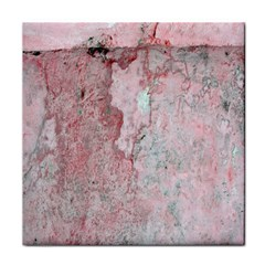 Coral Pink Abstract Background Texture Face Towel