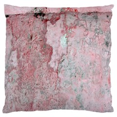 Coral Pink Abstract Background Texture Large Cushion Case (Two Sides)