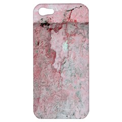 Coral Pink Abstract Background Texture Apple Iphone 5 Hardshell Case
