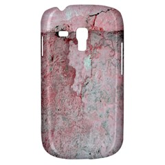 Coral Pink Abstract Background Texture Samsung Galaxy S3 MINI I8190 Hardshell Case