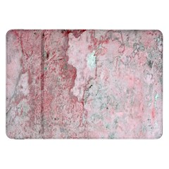 Coral Pink Abstract Background Texture Samsung Galaxy Tab 8.9  P7300 Flip Case
