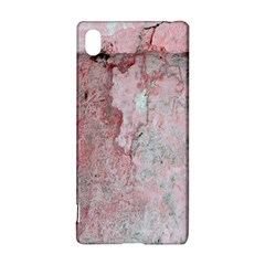 Coral Pink Abstract Background Texture Sony Xperia Z3+ Hardshell Case