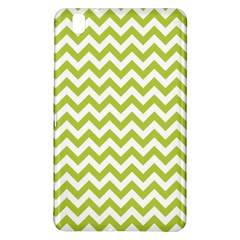Spring Green & White Zigzag Pattern One Piece Boyleg Swimsuit Samsung Galaxy Tab Pro 8.4 Hardshell Case