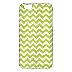 Spring Green & White Zigzag Pattern One Piece Boyleg Swimsuit iPhone 6 Plus/6S Plus TPU Case