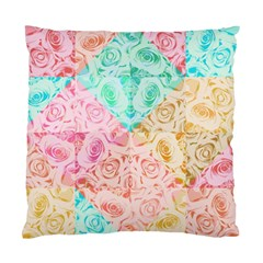 A Rose Is A Rose Standard Cushion Case (two Sides)