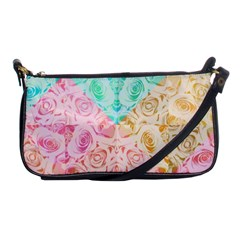 A Rose Is A Rose Shoulder Clutch Bags