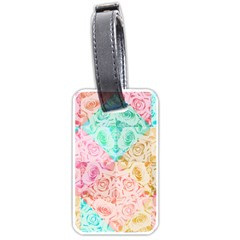A Rose Is A Rose Luggage Tags (One Side)