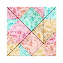 A Rose Is A Rose Acrylic Tangram Puzzle (6  x 6 )