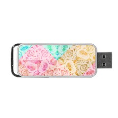 A Rose Is A Rose Portable USB Flash (Two Sides)