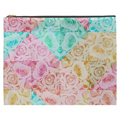 A Rose Is A Rose Cosmetic Bag (XXXL)