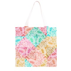 A Rose Is A Rose Grocery Light Tote Bag