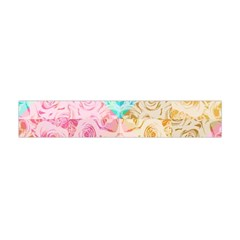 A Rose Is A Rose Flano Scarf (Mini)