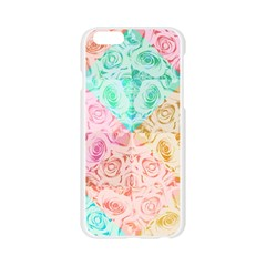 A Rose Is A Rose Apple Seamless iPhone 6/6S Case (Transparent)