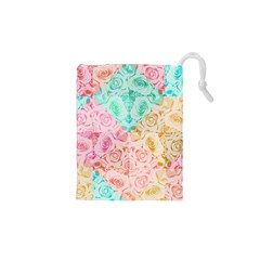 A Rose Is A Rose Drawstring Pouches (xs)