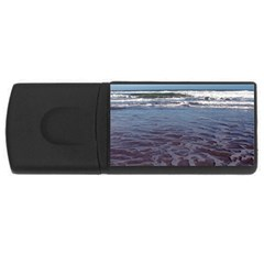 Ocean Surf Beach Waves Usb Flash Drive Rectangular (4 Gb)