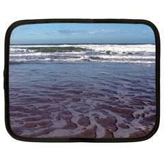 Ocean Surf Beach Waves Netbook Case (Large)