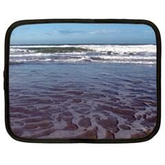 Ocean Surf Beach Waves Netbook Case (XXL)