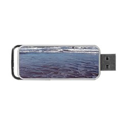 Ocean Surf Beach Waves Portable USB Flash (One Side)