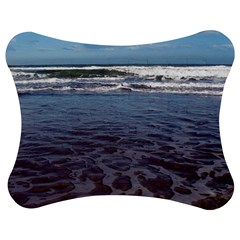Ocean Surf Beach Waves Jigsaw Puzzle Photo Stand (Bow)