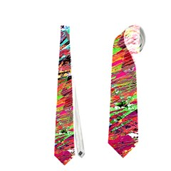 Expressive Abstract Grunge Neckties (Two Side)