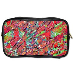 Expressive Abstract Grunge Toiletries Bags 2-Side