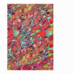 Expressive Abstract Grunge Small Garden Flag (Two Sides)