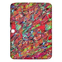 Expressive Abstract Grunge Samsung Galaxy Tab 3 (10.1 ) P5200 Hardshell Case