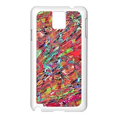 Expressive Abstract Grunge Samsung Galaxy Note 3 N9005 Case (White)