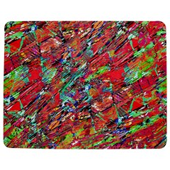 Expressive Abstract Grunge Jigsaw Puzzle Photo Stand (rectangular)